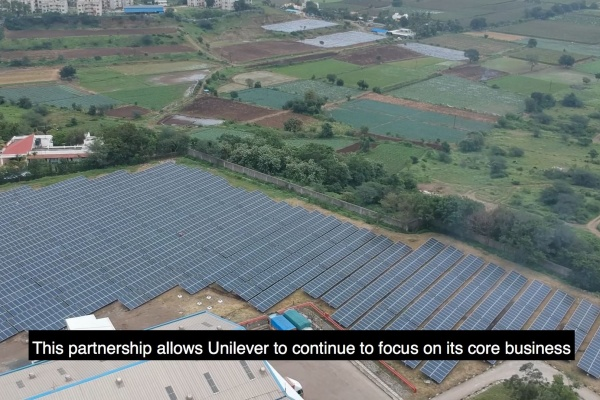 Cleantech Solar supporting Unilever's 100% Renewable Electricity Milestone