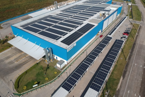 Cleantech Solar powers up three new solar projects at AkzoNobel's Malaysia and Thailand manufacturing facilities