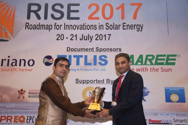 The Solar Innovation & Excellence Awards – RISE 2017 India