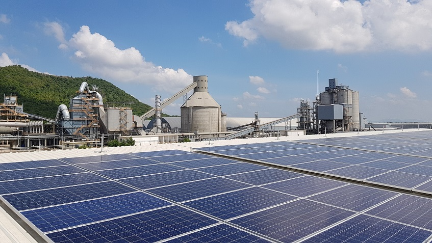 Chip Mong Insee Cement Rooftop Solar Project with Cleantech Solar