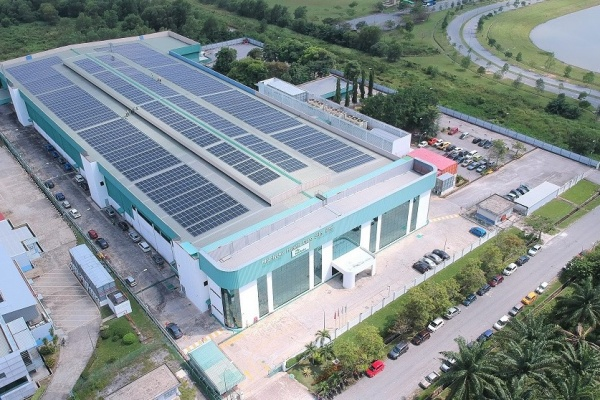 Cleantech Solar commissions 914 kWp on-site rooftop solar PV at Mölnlycke in Malaysia