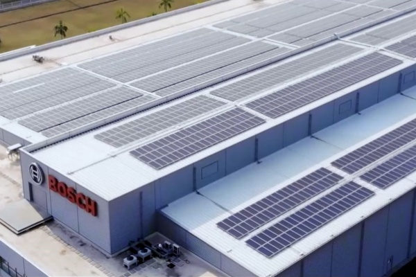 Cleantech Solar switches on 1 MW solar PV system at Bosch SMART factory in Thailand
