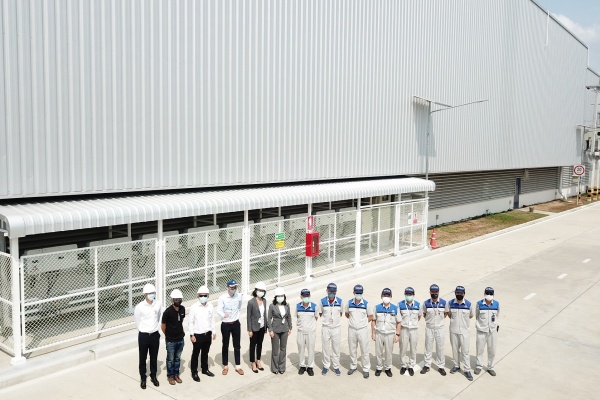Cleantech Solar celebrates the launch of a 1 MW PV system for Tan Chong Subaru Automotive in Thailand