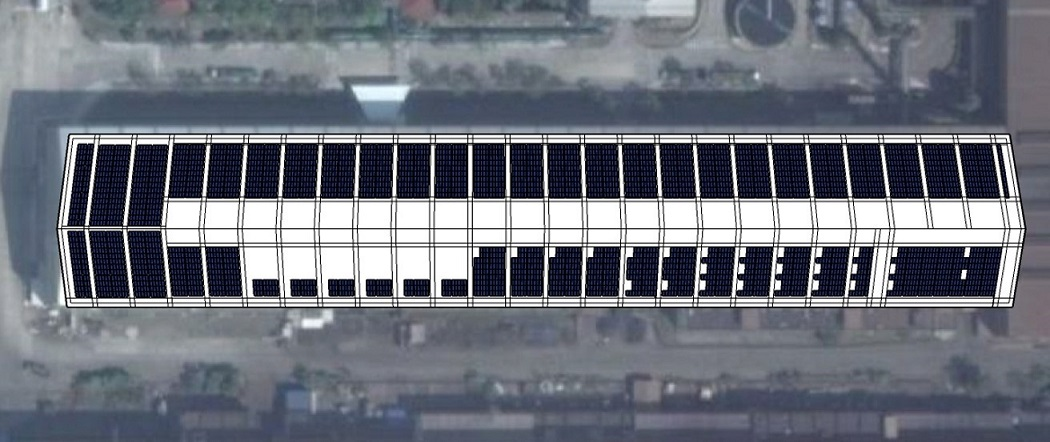 Cleantech solar and tata steel 1.4 MWp Solar PV system