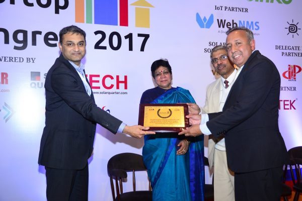 Cleantech Solar wins at India Rooftop Solar Congress 2017