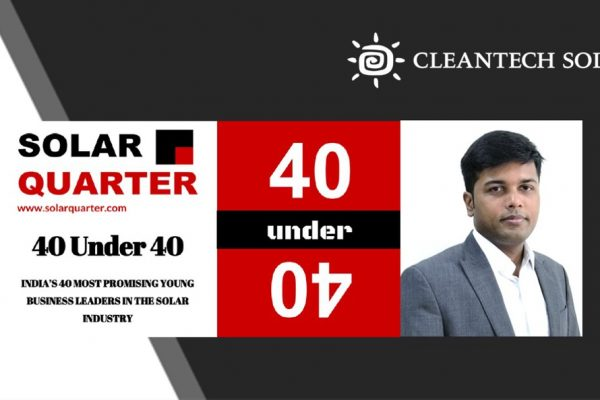 India's 40 Most Promising Young Business Leaders In the Solar Industry