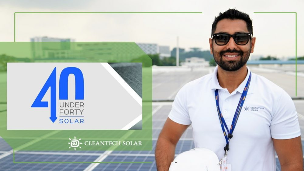 Raghav Malhotra Cleantech Solar 40 under 40 2018